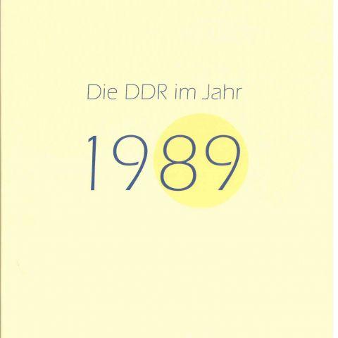 Die DDR im Jahr 1989