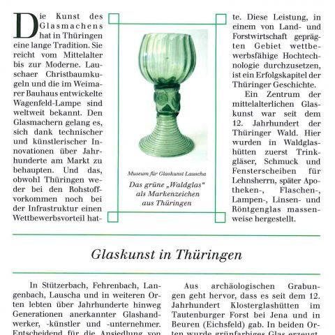 105 - Glaskunst in Thüringen