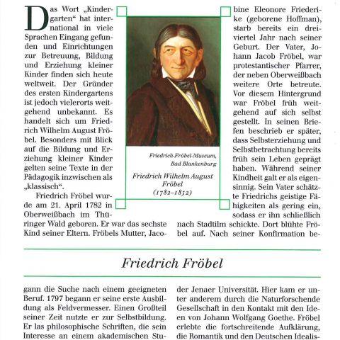 109 - Friedrich Fröbel