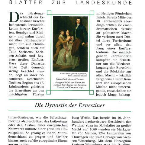 115 - Die Dynastie der Ernestiner
