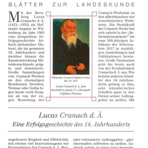 119 - Lucas Cranach d. Ä.- Eine Erfolgsgeschichte des 16. Jahrhunderts