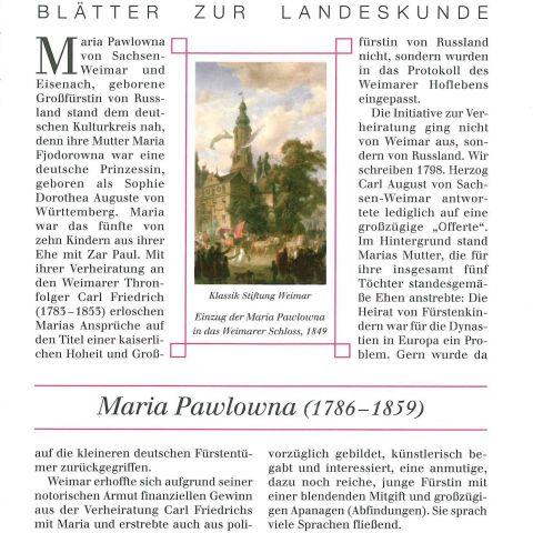 118 - Maria Pawlowna (1786-1859)
