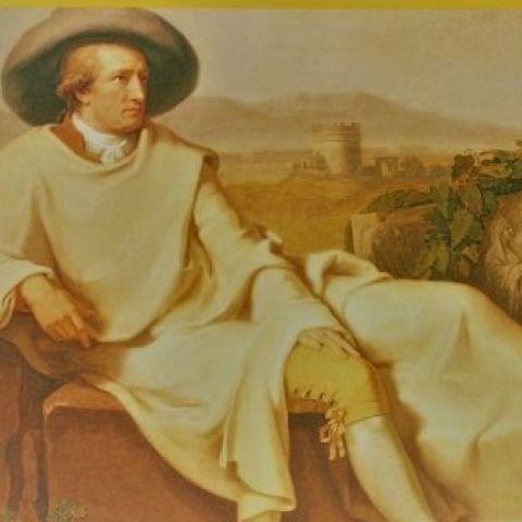Johann Wolfgang Goethe in der Campagna di Roma