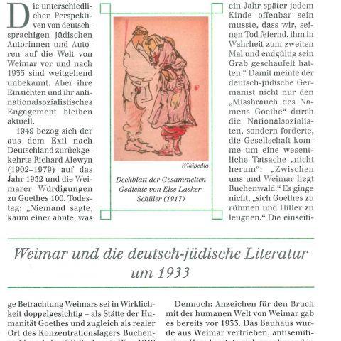 131 - Weimar und die deutsch-jüdische Literatur um 1933
