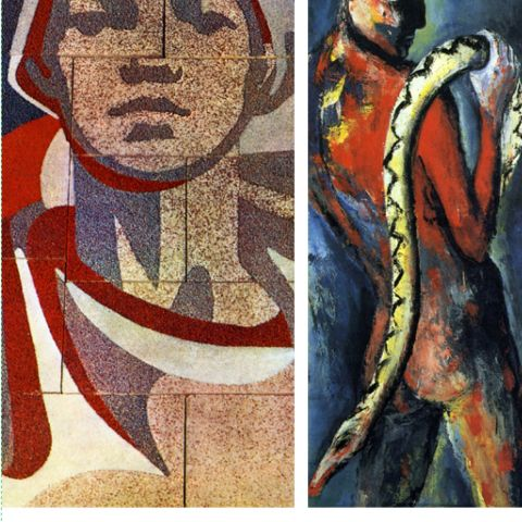 Nähe + Distanz, Bildende Kunst in der DDR
