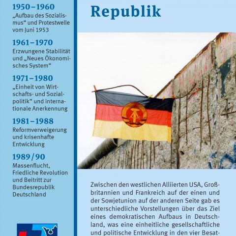 Die Deutsche Demokratische Republik