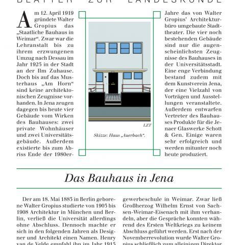 129 - Das Bauhaus in Jena