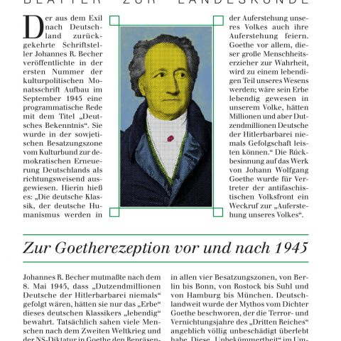 127 - Zur Goetherezeption vor und nach 1945