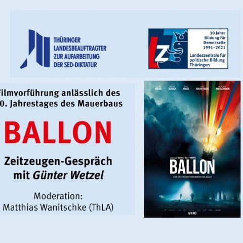 """Michael Herbigs Thriller """"Ballon"""" (D 2018)"""