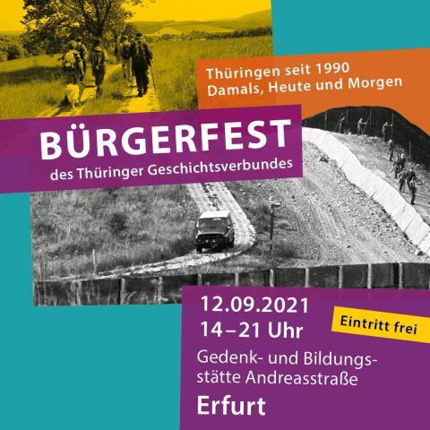 7. Bürgerfest des Thüringer Geschichtsverbunds