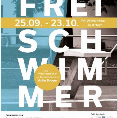 Finissage zur Ausstellung Freischwimmer