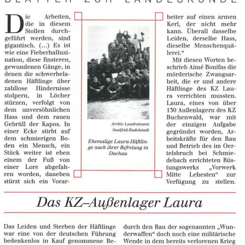 98 - Das KZ-Außenlager Laura