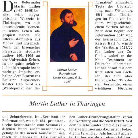 84 - Martin Luther in Thüringen
