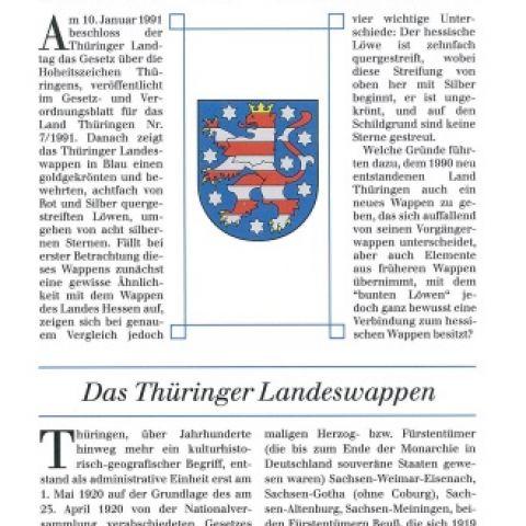 Das Thüringer Landeswappen