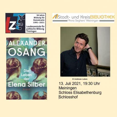 Buchvorstellung Alexander Osang: DIE LEBEN DER ELENA SILBER