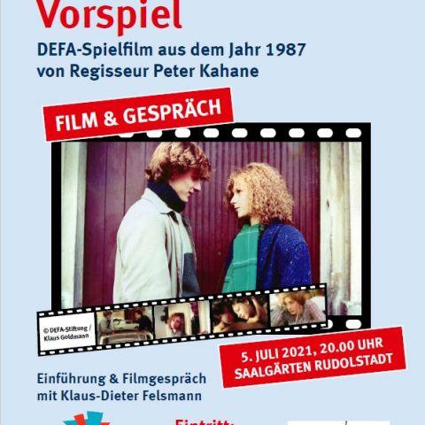 """""""Vorspiel"""" (DDR 1987) Film-Tour """"Inszenierte Realität…"""" zum 75. Jahrestag der DEFA-Gründung mit Klaus-Dieter Felsmann"""