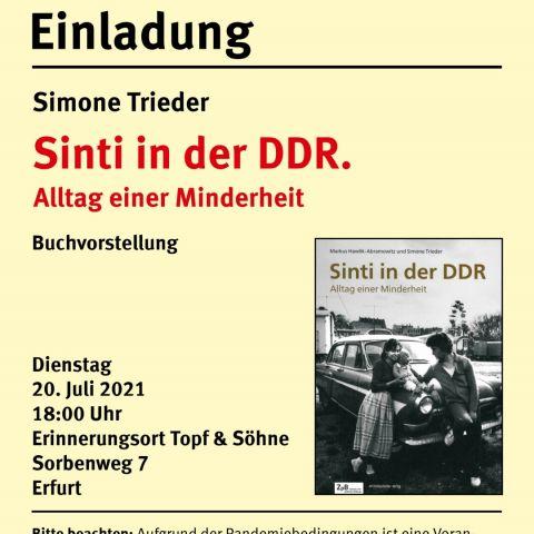 Sinti in der DDR. Alltag einer Minderheit