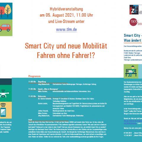 """Smart City und die Neue Mobilität – Fahren ohne Fahrer!?"""""""