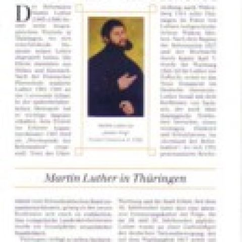 84 - Martin Luther in Thüringen