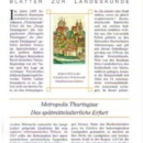 91 - Metropolis Thuringiae. Das spätmittelalterliche Erfurt