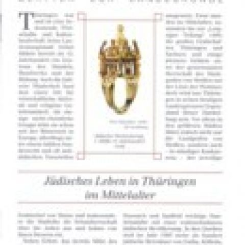 93 - Jüdisches Leben in Thüringen im Mittelalter
