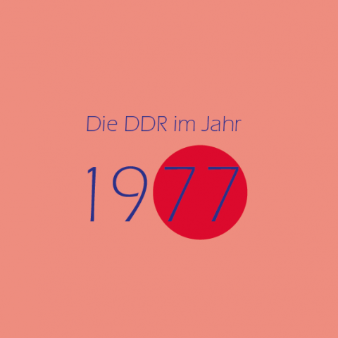 Die DDR im Jahr 1977