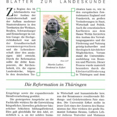 112 - Die Reformation in Thüringen