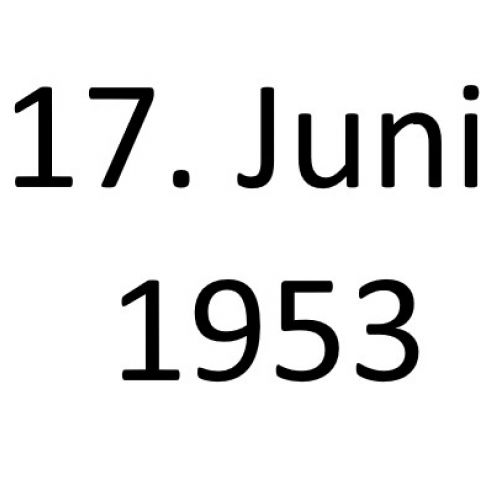 Wir wollen freie Menschen sein! Der DDR-Volksaufstand vom 17. Juni 1953
