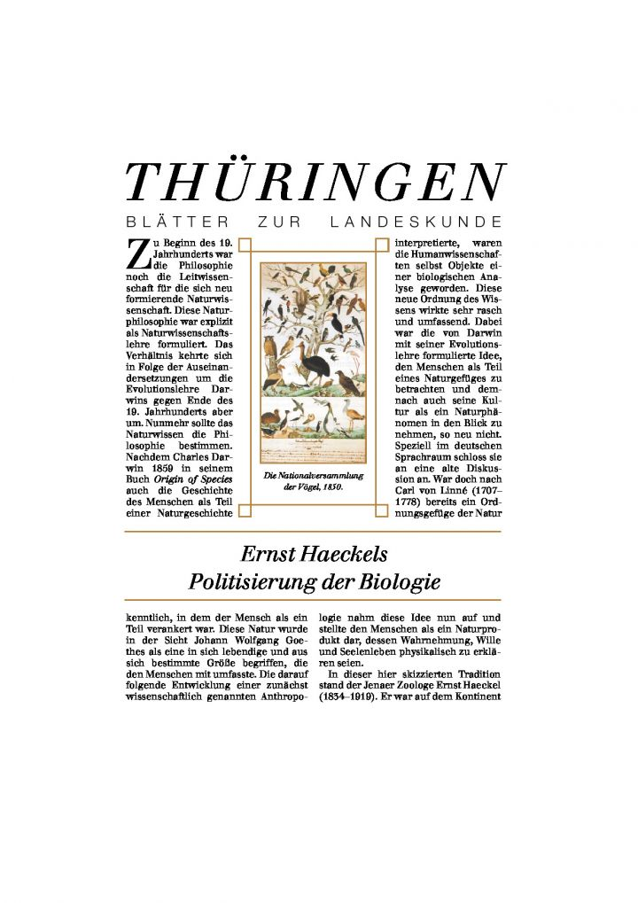 [54] - Ernst Haeckels Politisierung der Biologie