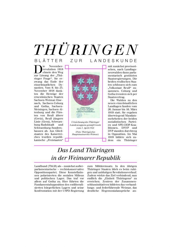 [37] - Das Land Thüringen in der Weimarer Republik