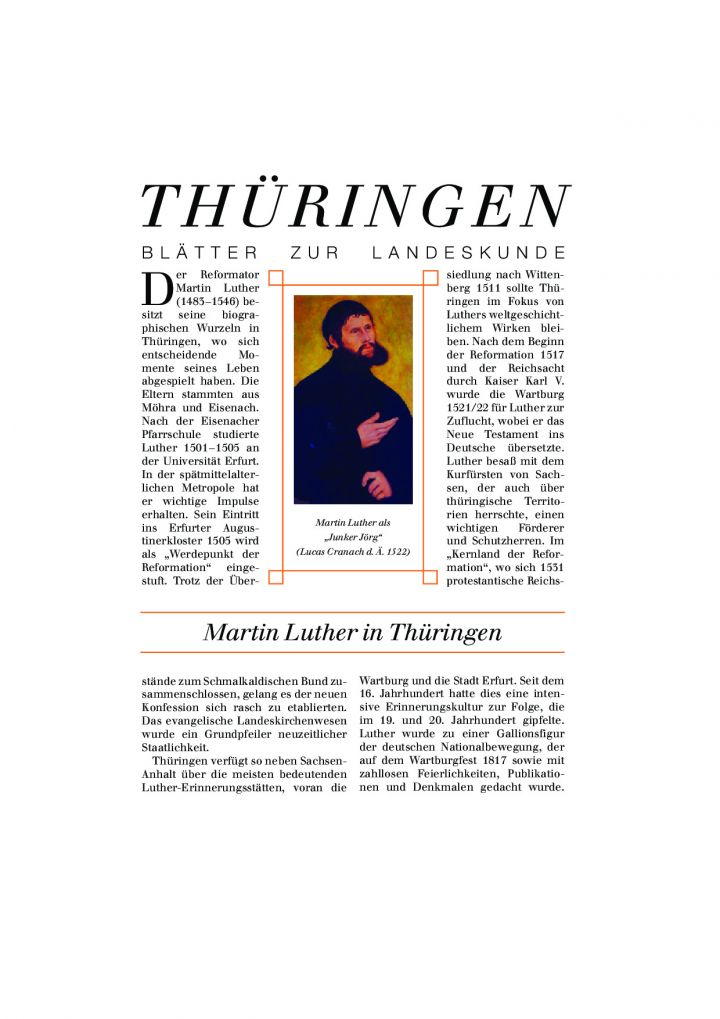 [XX] - Martin Luther in Thüringen