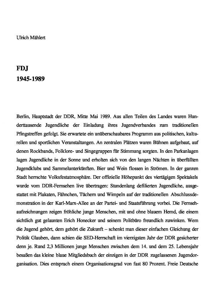 FDJ 1946-1989