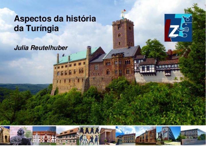 Português - Aspectos da história da Turíngia