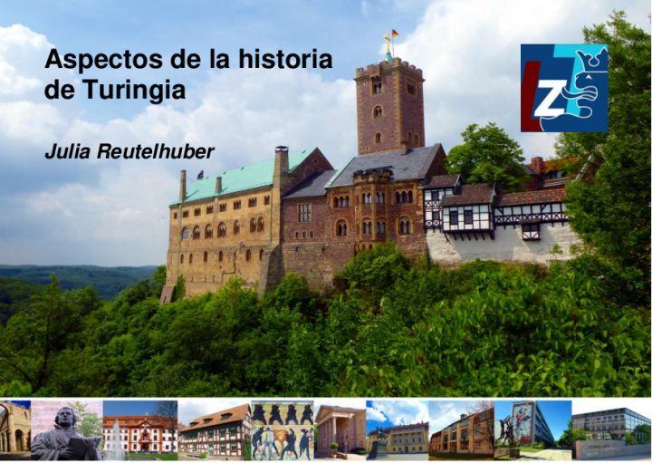 Castellano - Aspectos de la historia de Turingia