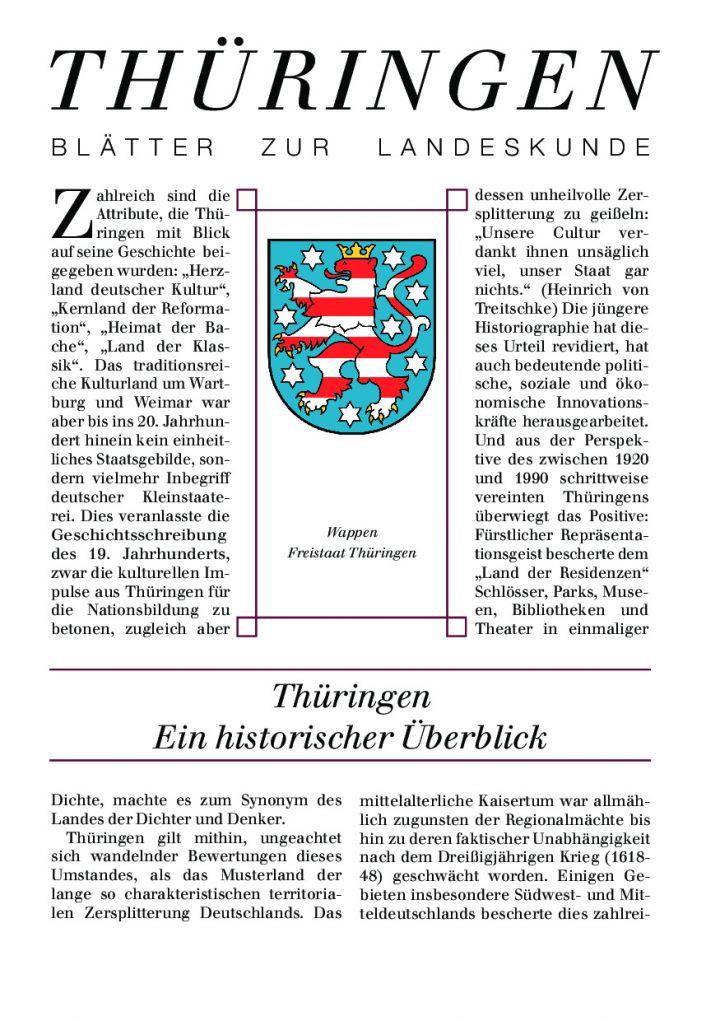 [40] - Thüringen Ein historischer Überblick
