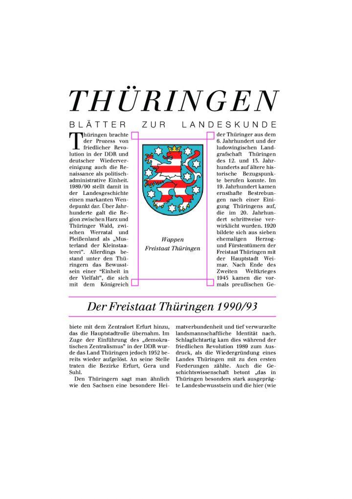 [83] - Der Freistaat Thüringen 1990/93