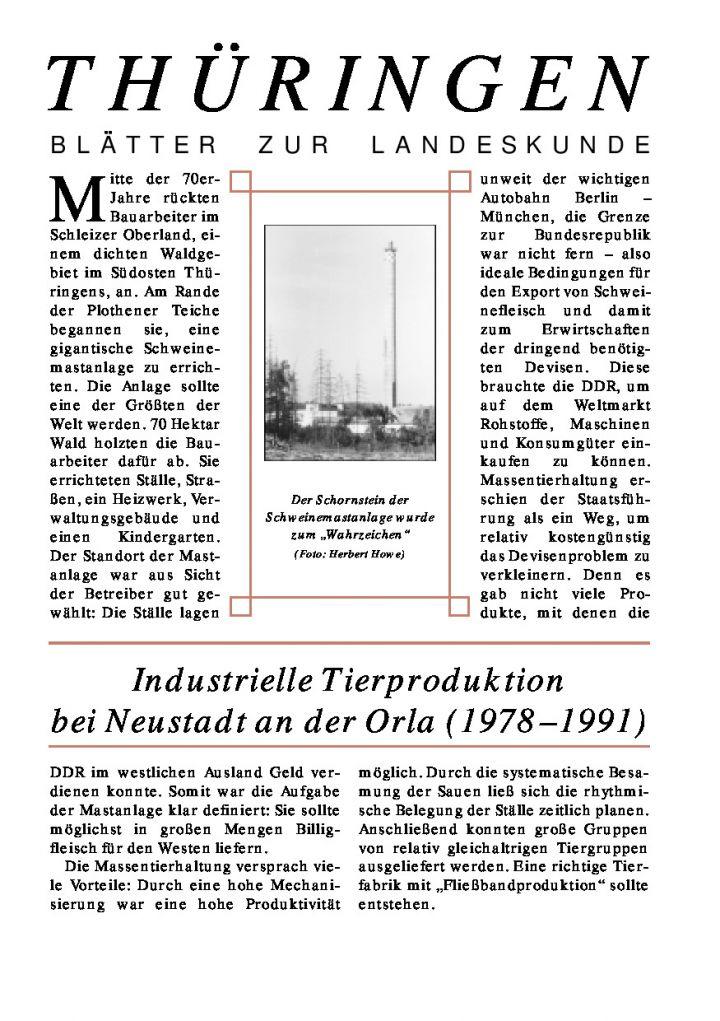 [64] - Industrielle Tierproduktion bei Neustadt an der Orla (1978–1991)