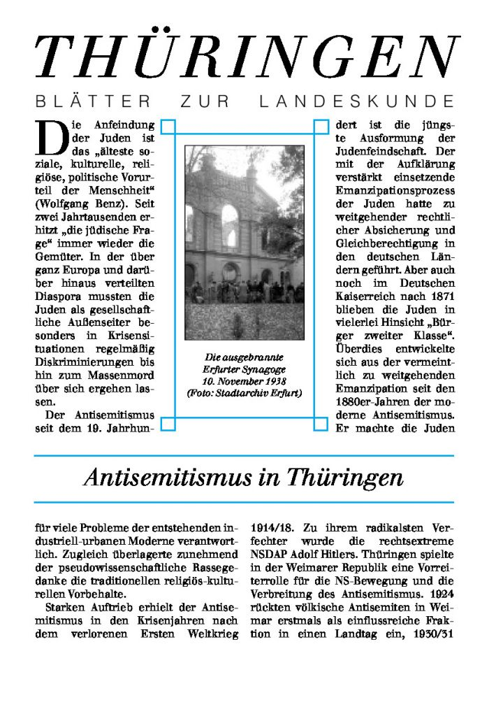 [76] - Antisemitismus in Thüringen