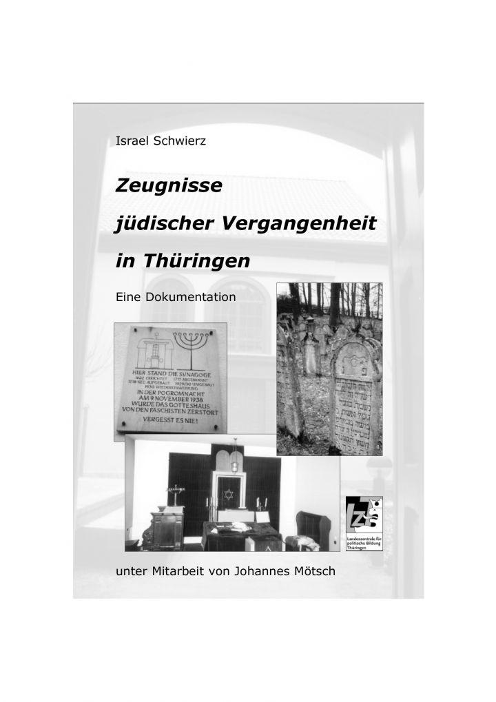 Zeugnisse jüdischer Vergangenheit in Thüringen